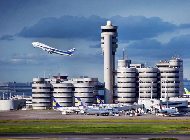 Tokyo Haneda Airport – one of the world's busiest airports