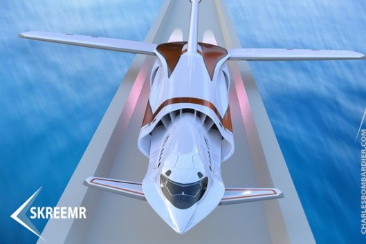 Charles Bombardiers' hypersonic Skreemr aircraft